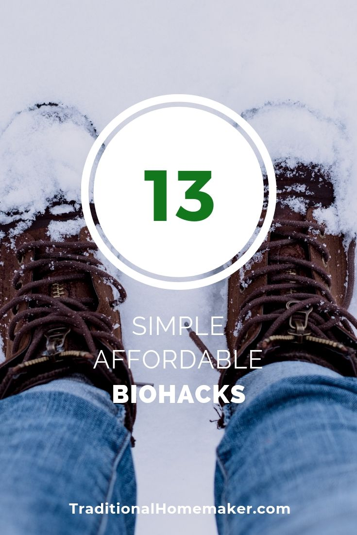 What routinecan you tweak a bit to help your body be it's best? Use a few of these old fashioned, affordable biohacking tips to help you feel young again!