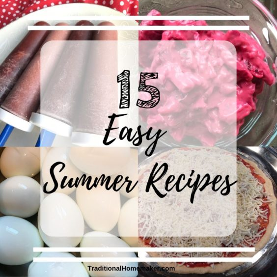 Refresh your menu with these easy summer recipes for the family