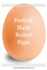 Do you love the convenience of hard boiled eggs for snacks but dread making them? Check out these steps for perfect hard boiled eggs!