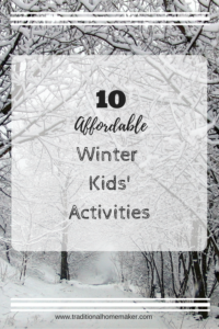 Getting bored this winter while you are all cooped up inside? Check out these affordable winter activity ideas for family fun even when the weather isn't so fun!