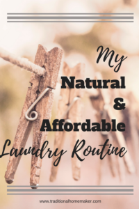 Learn how I implement a few simple changes for a natural and affordable laundry routine!
