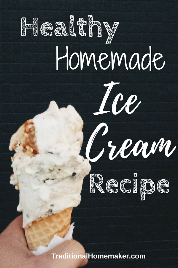 Summer just wouldn't be summer if it weren't for ice cream! Avoid unnecessary ingredients when you buy it from the store by making this healthy homemade ice cream recipe.