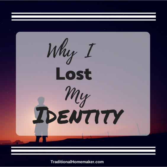 """""""Don't lose your identity"""" implies that you should only find your identity where society deems acceptable. Let me share why I lost my identity, willingly."""