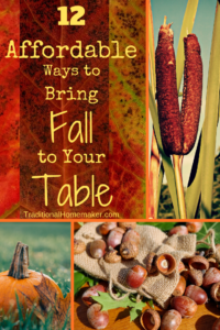 Make a meal become an experience the whole family wants to linger around.Discover 12 affordable ways to change up your dinner table decor this fall.