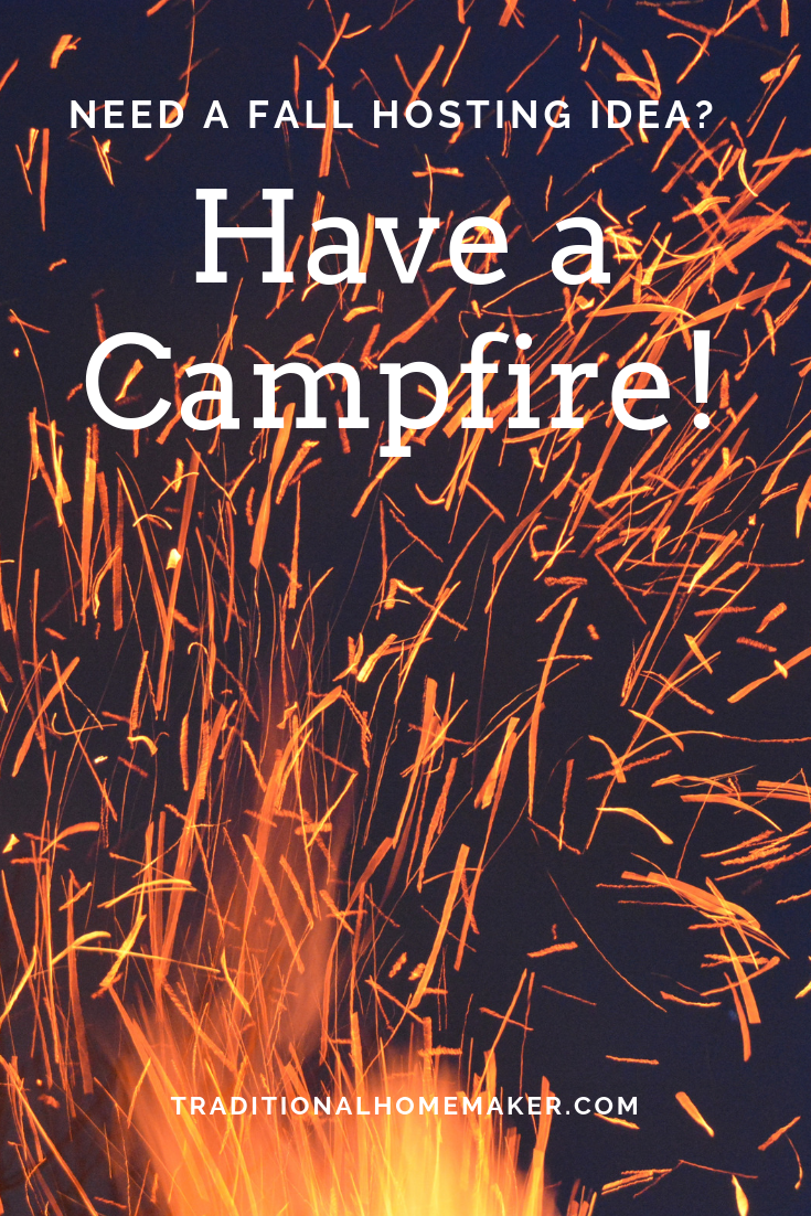 Want to entertain but you don't have the time or money? Campfire entertaining is a great way to gather friends in a casual, affordable, no-pressure setting.