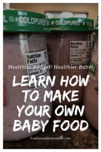 Buying baby food can add up really quick! Especially if you have a big eater. See how you and baby can benefit by feeding homemade baby food.