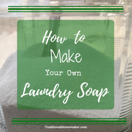 There are so many recipes for how to make your own laundry soap. See how I've tweaked a recipe that works great for me. Learn how easy it is to make!