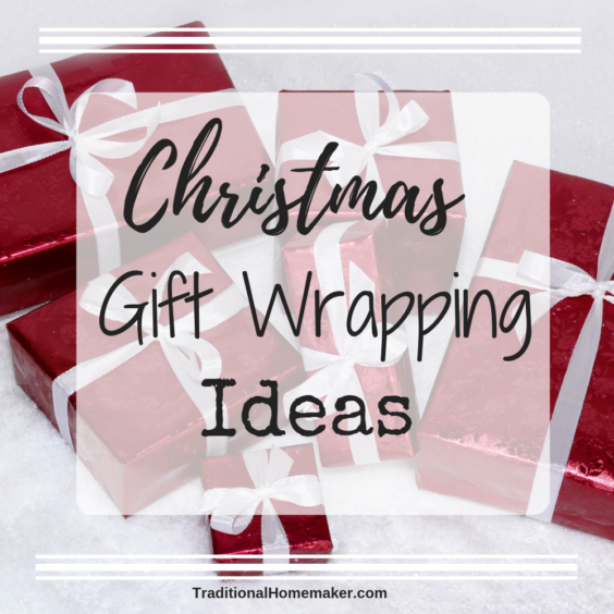 Whether you are going for a look of elegance or a gag to tease someone, I've got lots of Christmas gift wrapping ideas for you!