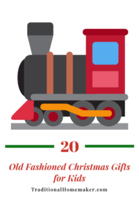 Do you long for the good ole' days of simple, meaningful gifts? Make this Christmas memorable with these old fashioned Christmas gifts for kids.