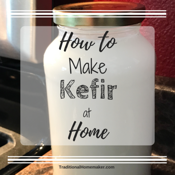 It's delicous and full of probiotics. What is it? Kefir! This powerhouse drink can be pricey to buy so I'm going to show you how to make kefir at home.