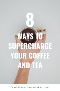 I love sipping hot (and sugar-laden) drinks all winter long. Finding ways to supercharge my coffee and tea drinks with added nutrients eases the guilt!