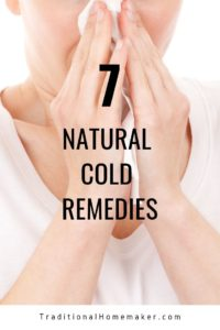 Keeping ourselves healthy through the winter is something that doesn't just happen. I want to share with you a few natural cold remedies that we use.