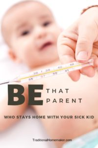 """With relief I say that I no longer have to ask myself, """"Should I stay home with my sick kid?"""" I know the answer the minute he gets sick."""