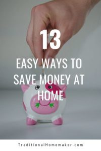Think you have to be pulling a paycheck in order to help your family's finances? Contribute to your family budget with these easy ways to save money at home!