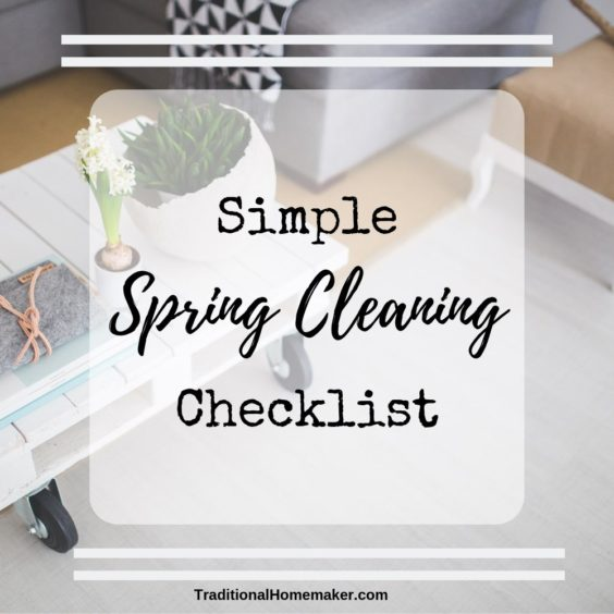 I know, you clean all summer, fall and winter. But when warm weather motivates you to clean all the dark corners, use my simple spring cleaning checklist!