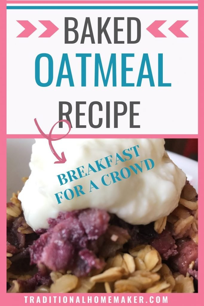 This simple baked oatmeal recipe is easy to make and easy to customize. Mix in fruit, spices or nuts of choice to provide a nourishing, affordable meal.