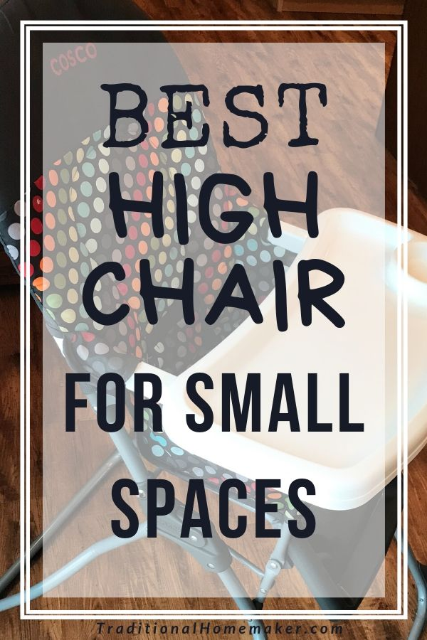 Are you a minimalist looking for the best high chair for small space? Check out this compact high chair I use and love.