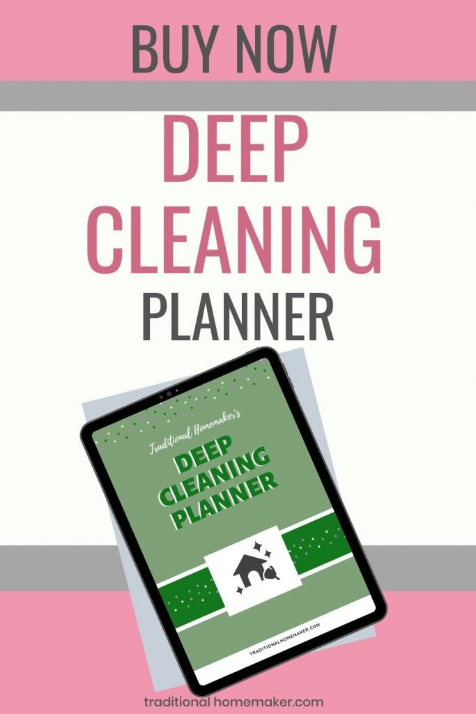 Deep Cleaning Planner