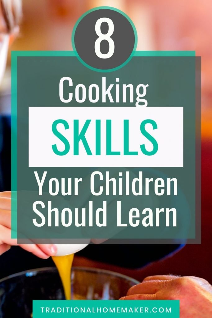 Children working in the kitchen can be messy and burdensome. But consider teaching these basic cooking skills children need to learn to your little ones.