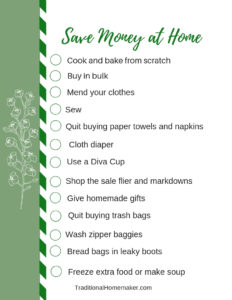 Easy Ways to Save Money at Home