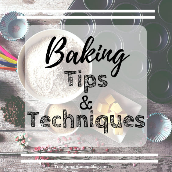 Want your baked goodies to turn out looking like the picture? Let me share a few baking tips and techniques that will help you become a better baker.
