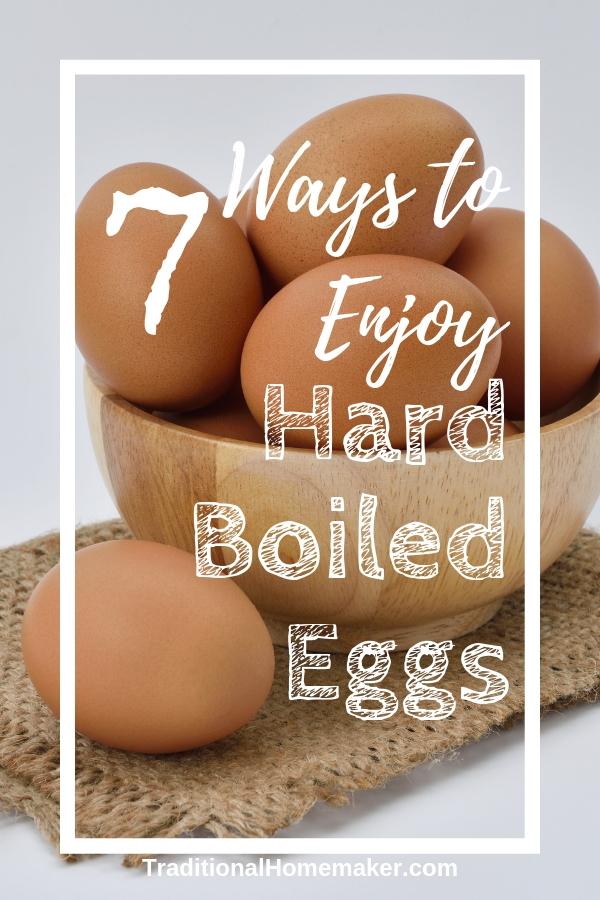 Enjoy Hard Boiled Eggs