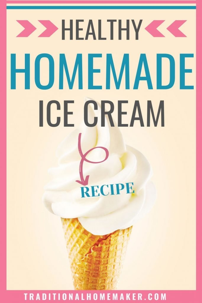 Summer wouldn't be summer without ice cream! Avoid unnecessary ingredients when you buy it from the store by making this healthy homemade ice cream recipe.
