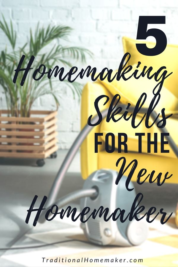 Becoming the keeper of your own home can be intimidating. Learning some basic homemaking skills for the new homemaker will make your life much easier.
