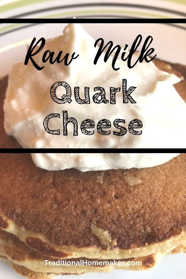 Easily add some fermented dairy to your diet! Raw milk quark cheese requires only one ingredient. Join me in learning how to make raw milk quark cheese.