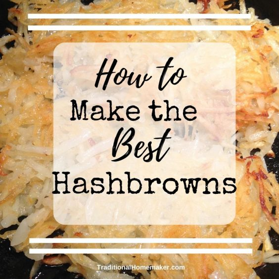 Hash browns are one of those things you only order at a restaurant because they know just how to make them.Now you can make the best hash browns ever!Hash browns are one of those things you only order at a restaurant because they know just how to make them.Now you can make the best hash browns ever!