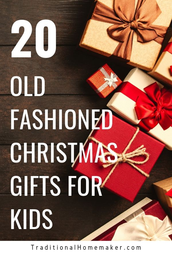 Have you and your kids become zombies in this age of screens everywhere? Make this Christmas different for your family with these old fashioned Christmas gifts for kids.