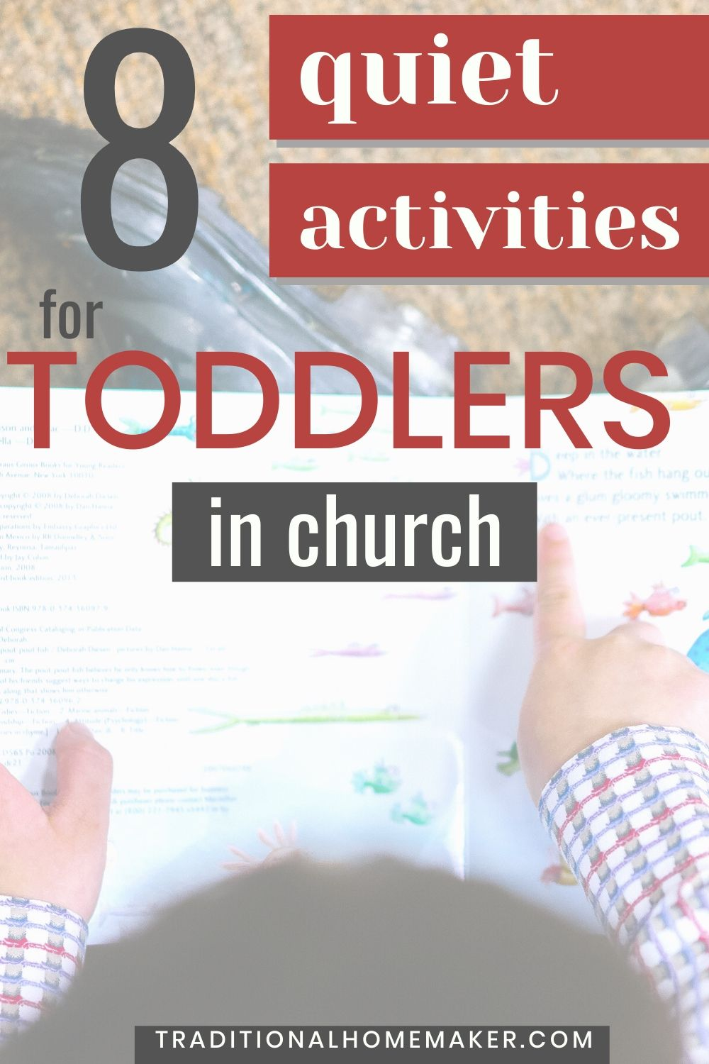 Need to keep your toddler quiet for church, a wedding or funeral? Keep some of these activities with you to keep your toddler quiet in church.
