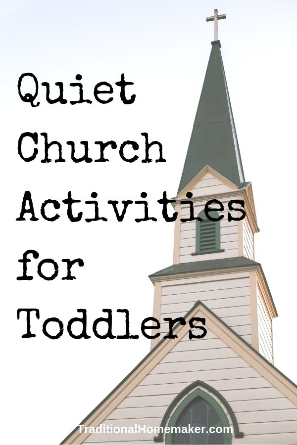 Quiet Church Activities for Toddlers