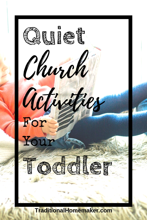 Quiet Church Activities for Your Toddler and anyone else!