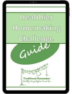 Healthier Homemaking Challenge